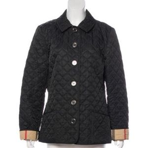 Burberry Brit quilted nova check lined jacket